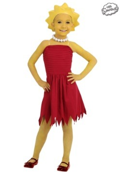 Child Lisa Simpson Costume