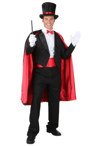 Plus Size Magician Costume