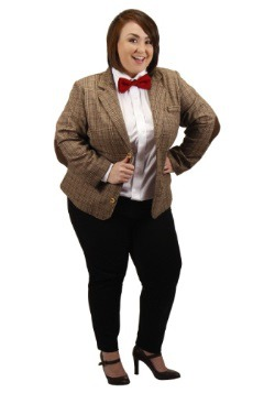 Plus Size Eleventh Doctor Womens Jacket
