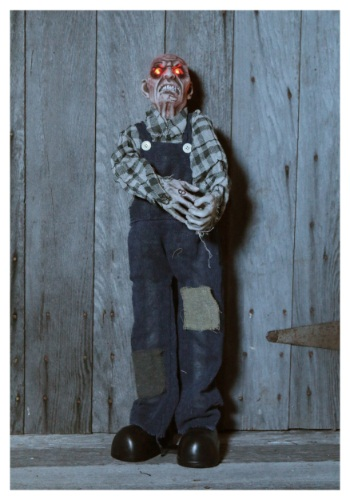 30 Inch Plaid Moving Zombie Prop