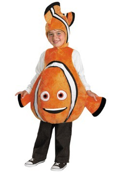 Toddler Deluxe Finding Nemo Costume