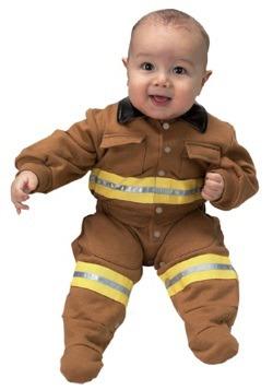 Infant Firefighter Costume