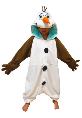 Kids Olaf Pajama Costume