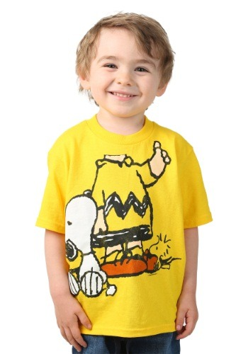 Toddler Peanuts I Am Chuck with Snoopy T-Shirt