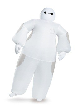 Adult White Baymax Inflatable Costume