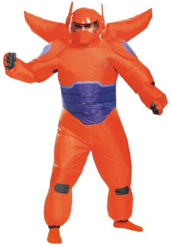 Adult Red Baymax Inflatable Costume