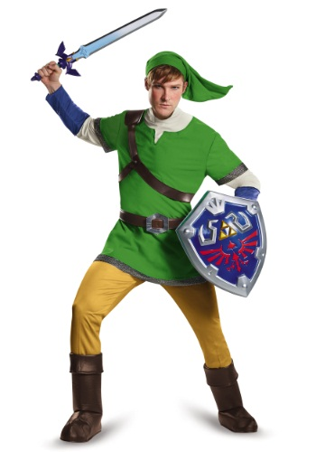 Plus Size Deluxe Link Costume
