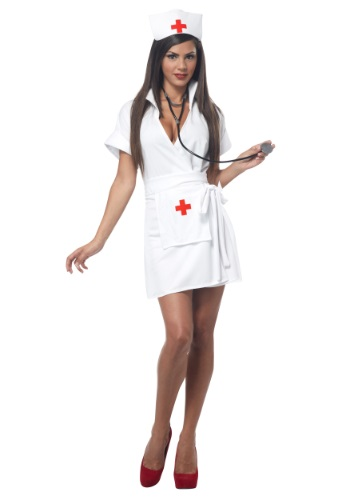 Plus Size Fashion Nurse Costume
