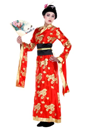 Plus Geisha Costume