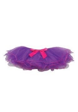 Child's Purple and Fuchsia Two Tone Tutu