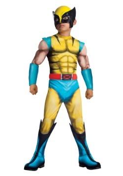 Child Deluxe Wolverine Costume