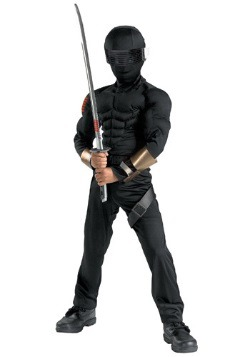 Deluxe Kids Snake Eyes Costume