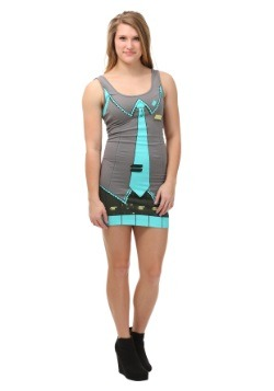 Hatsune Miku I Am Miku Juniors Tunic Tank