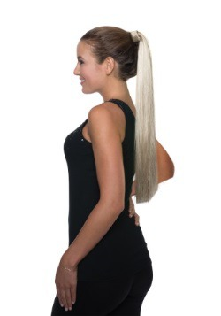 Blonde Ponytail Clip