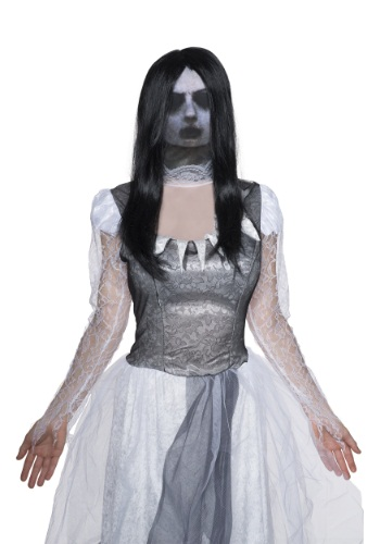 Adult Fabric Ghost Mask