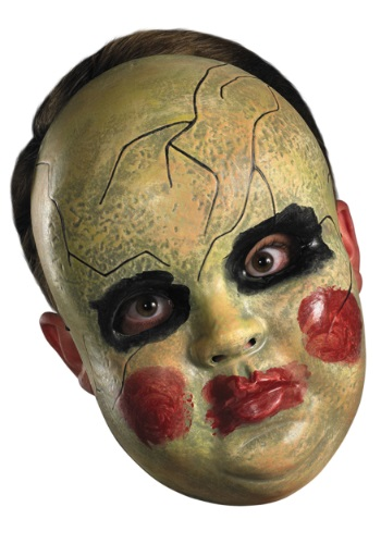 Adult Smeary Doll Face Mask