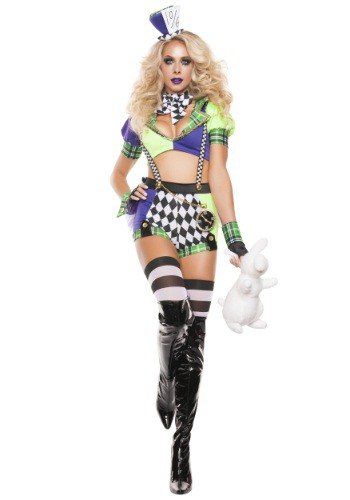 sc 1 st  Halloween Costumes UK & Womenu0027s Tipsy Mad Hatter Costume