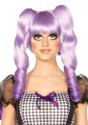 Purple Dolly Wig