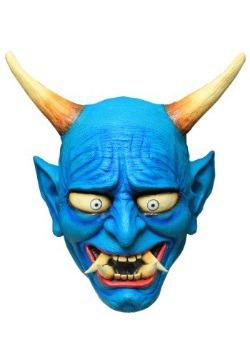 Blue Oni Demon Adult Mask