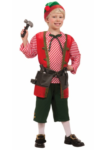 Child Toy Maker Elf Costume