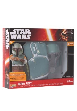 Boba Fett Muscle Chest Dress Up Box Set
