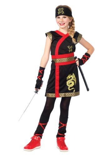 Girls Ninja Warrior Costume