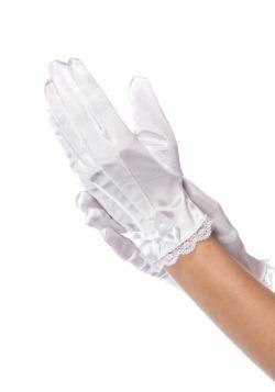White Girls Gloves