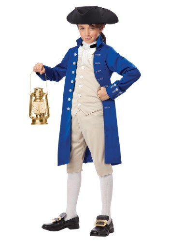 Child Paul Revere Costume