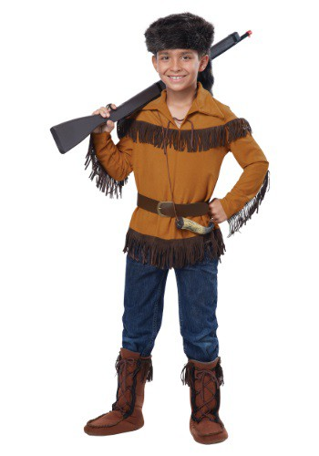 Kids Davy Crockett Costume