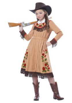 Girl's Annie Oakley Costume