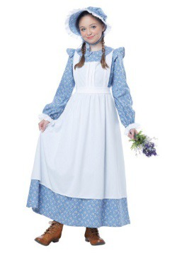 Child Pioneer Girl Costume