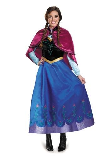 Frozen Traveling Anna Prestige Costume