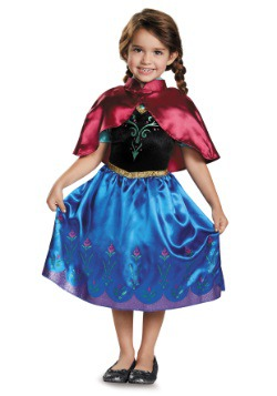 Frozen Traveling Anna Classic Toddler Costume