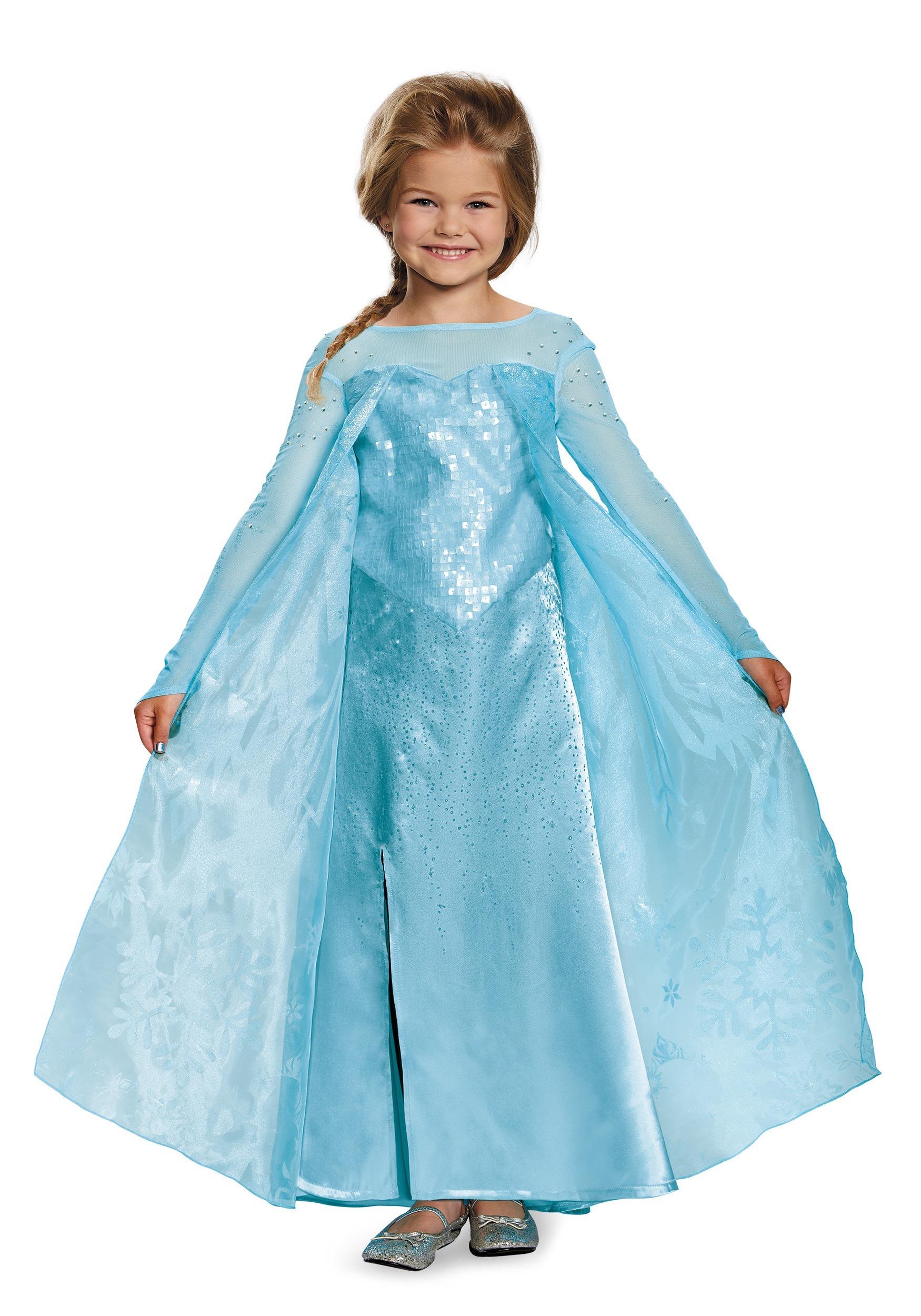 Girls frozen elsa ultra prestige costume solutioingenieria Choice Image