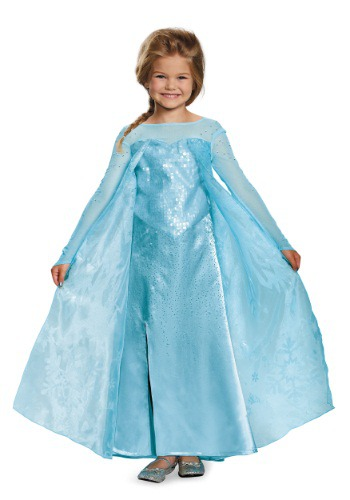 Girls Frozen Elsa Ultra Prestige Costume