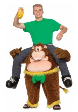 Adult Ride On Monkey Costume