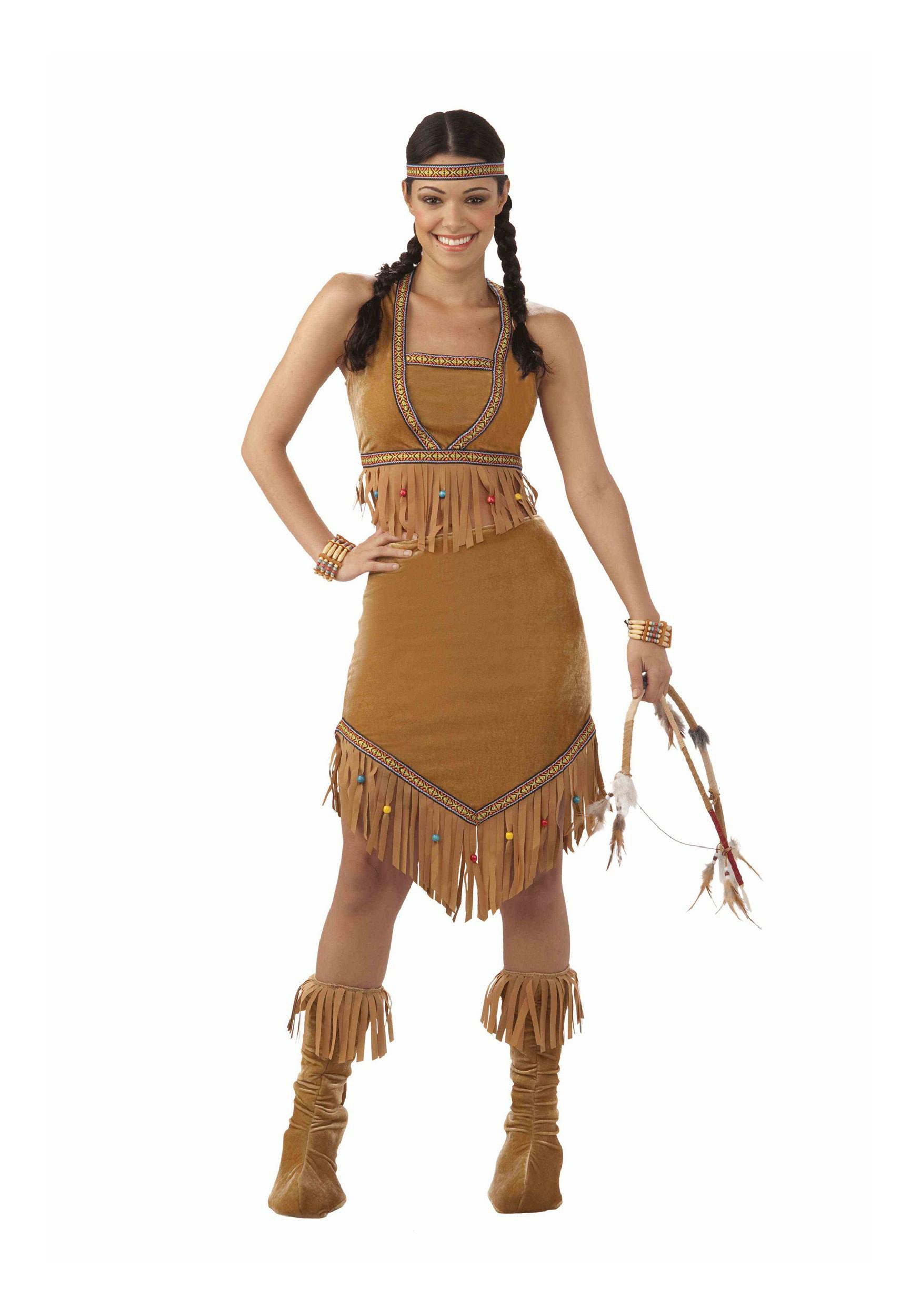 Women S Native American Cutie Costume