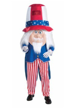 Adult Uncle Sam Parade Mascot