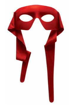 Red masked Man w/Ties