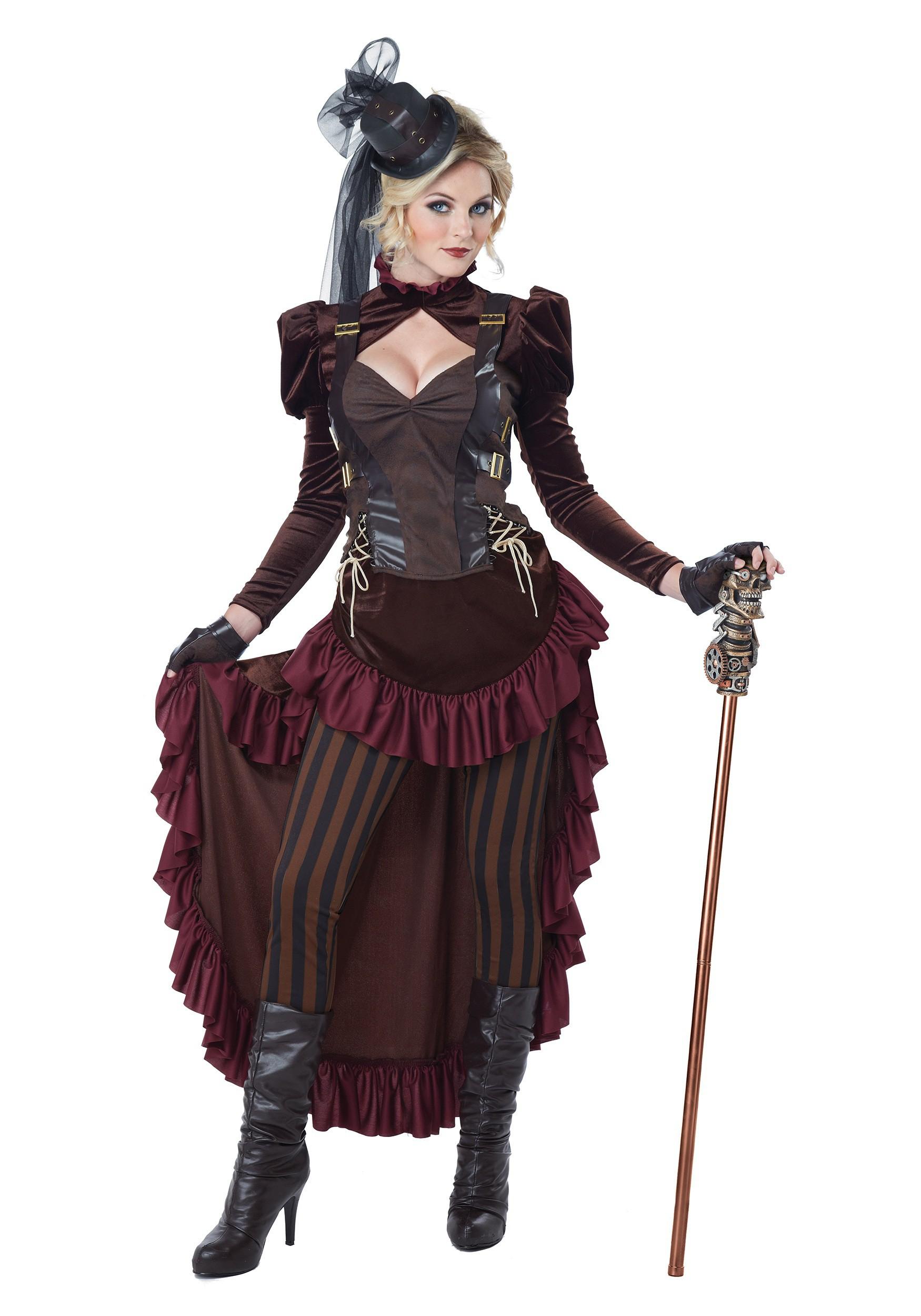Women\u0027s Victorian Steampunk Costume
