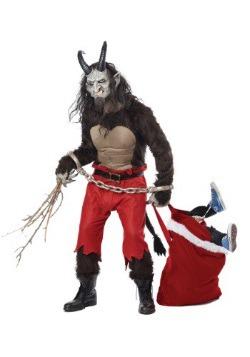 Adult Krampus the Christmas Demon Costume