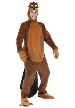 Adult Plus Size Beaver Costume