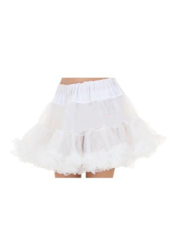 Plus White Petticoat