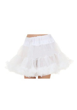 Plus White Petticoat