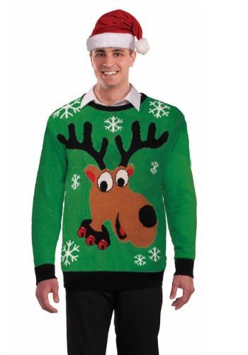 Adult Reindeer Ugly Sweater