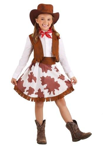 Girls Sweetheart Cowgirl Costume