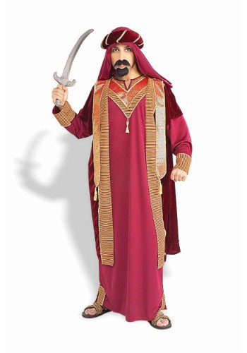 Mens Deluxe Arabian Sultan Costume