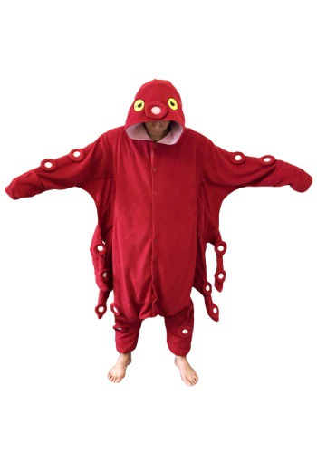 Red Octopus Pajama Costume