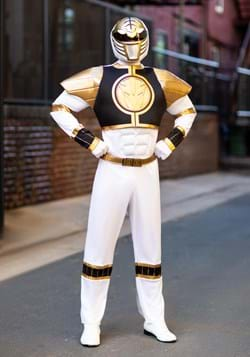 White Ranger Classic Muscle Adult Costume