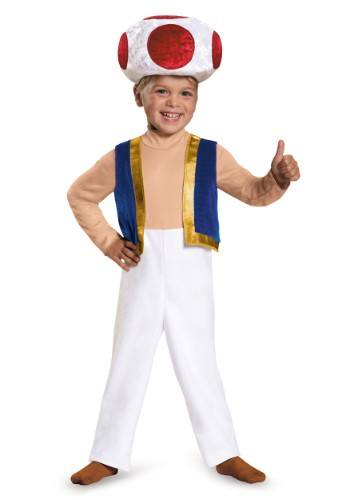 Toad Toddler Costume